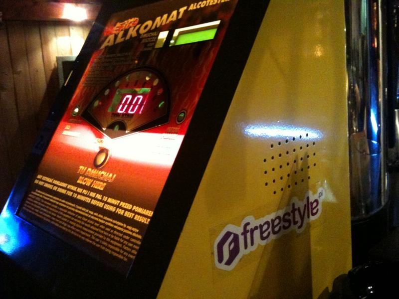 Freestyle vs. Alkomat