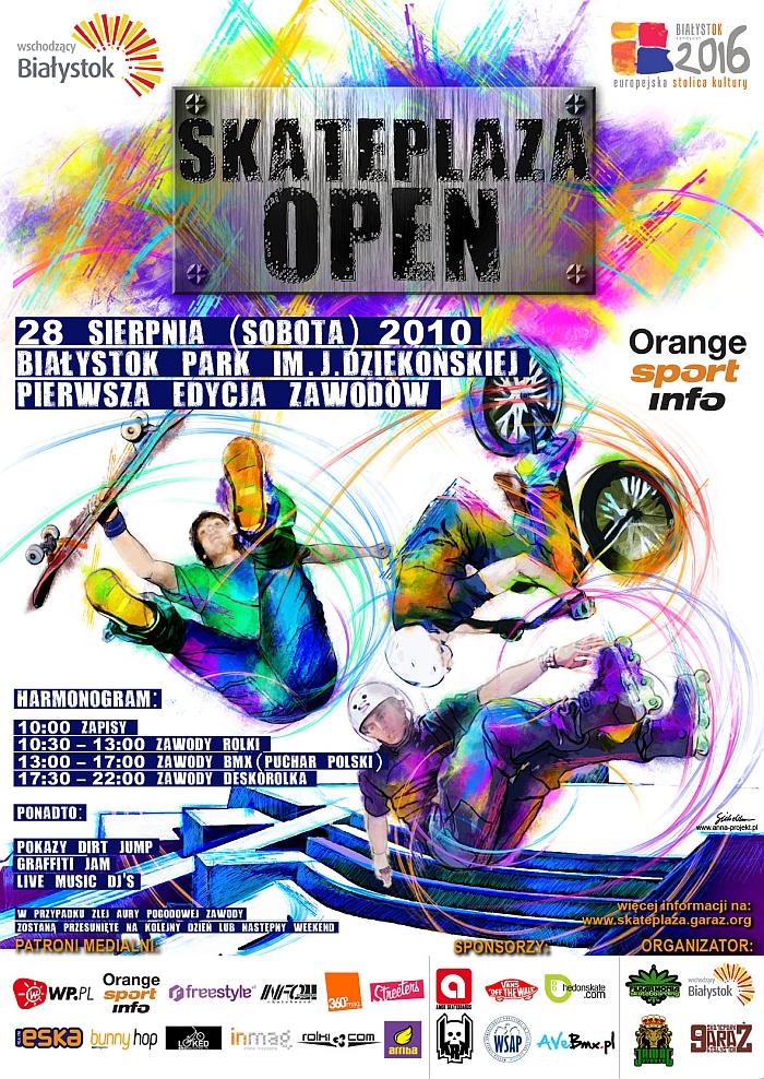 Skateplaza Open - Białystok