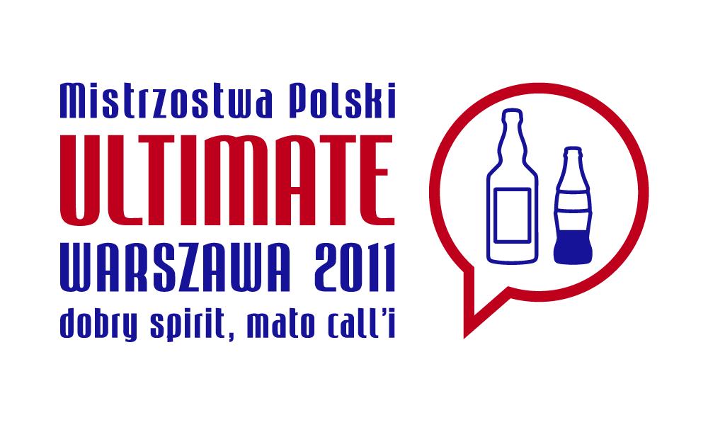 Logo Mistrzostw Polski w Ultimate 2011