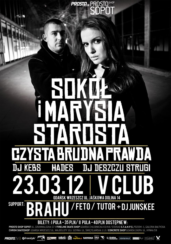 Sokół i Marysia Starosta w Gdańsku