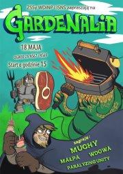 Gardenalia 2012 - Muchy, Małpa, Wdowa, Paralyzing Unity