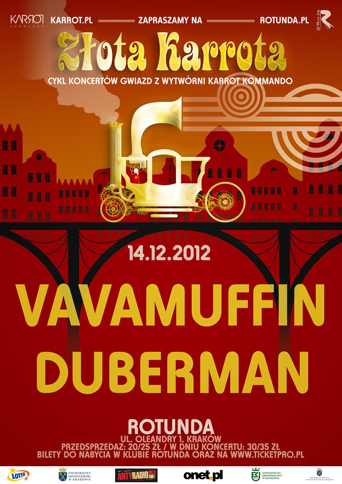 VAVAMUFFIN& Duberman w Rotundzie