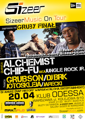 20.04 Warszawa: Gruby Finał – Sizeer Music On Tour – GrubSon i BRK