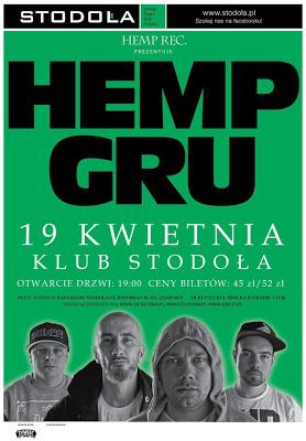 19.04 Warszawa: HEMP GRU W STODOLE