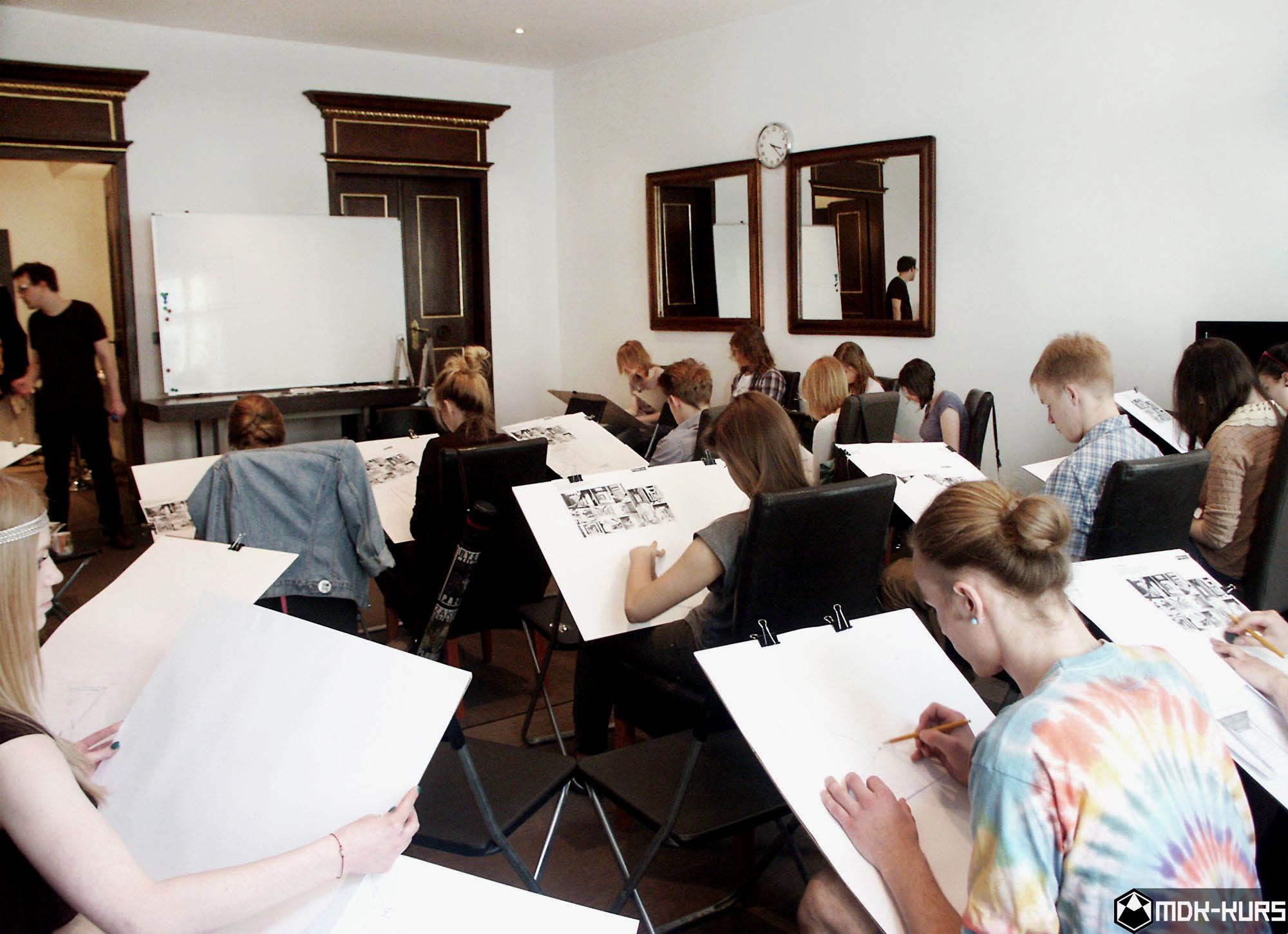 Pracownia rysunku w Krakowie