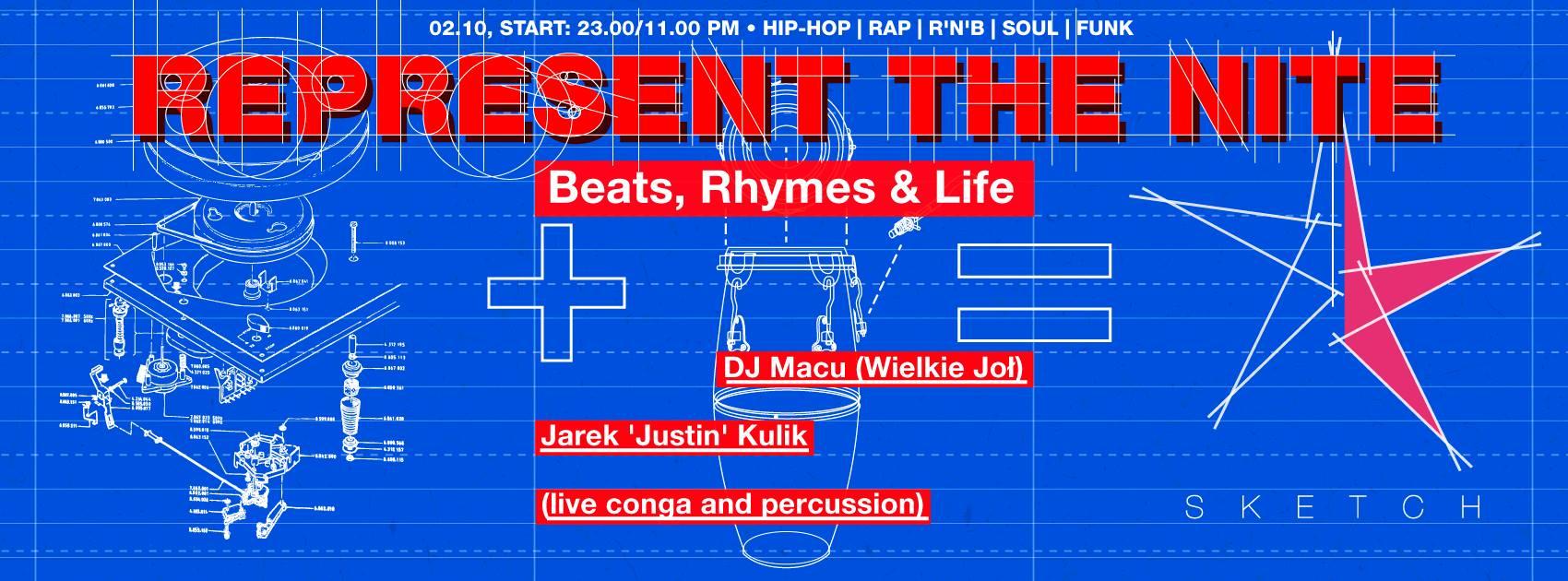 Sketch NITE::: REPRESENT THE NITE ✌ Macu x Justin