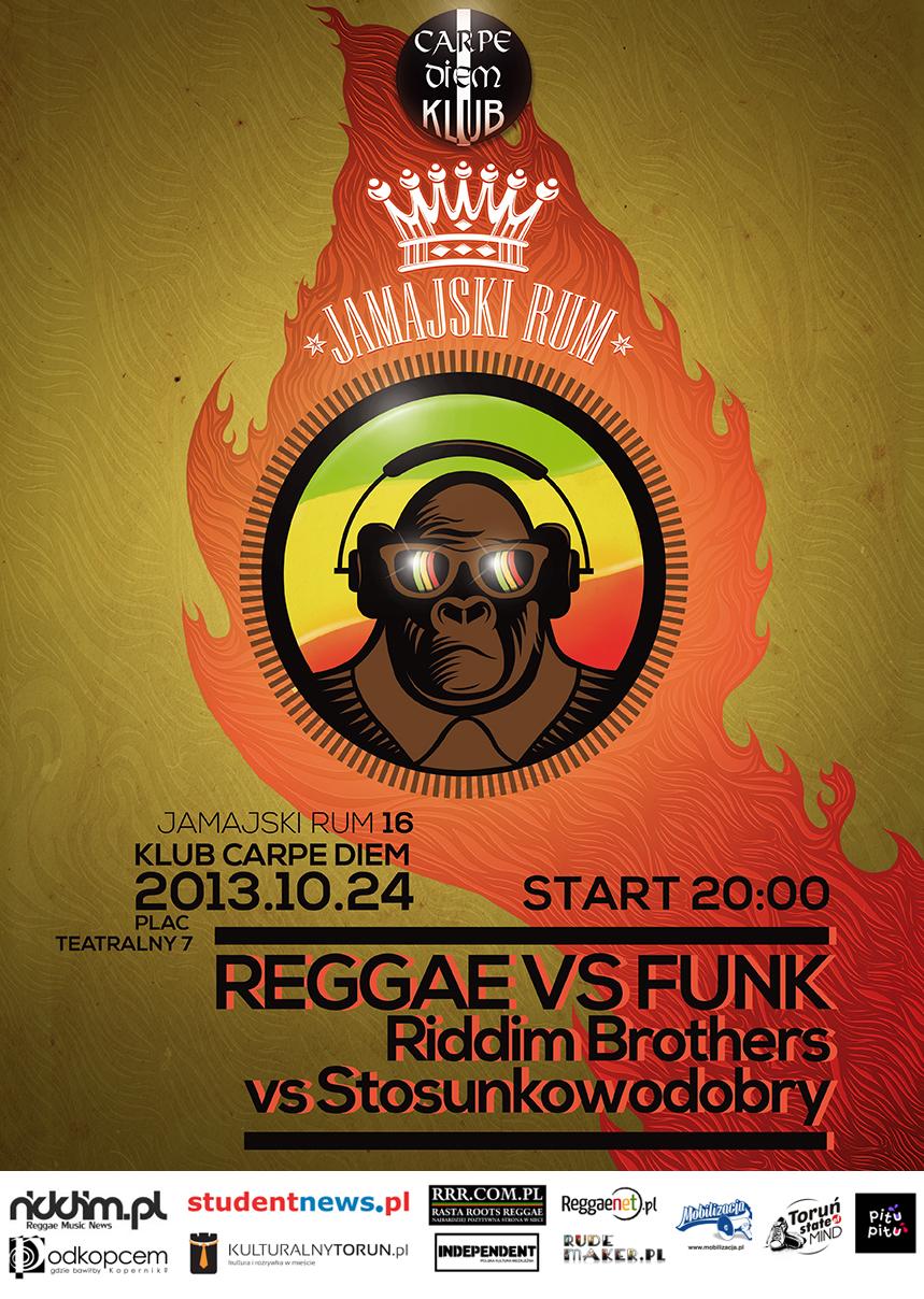 Jamajski Rum 16 - Reggae vs Funk