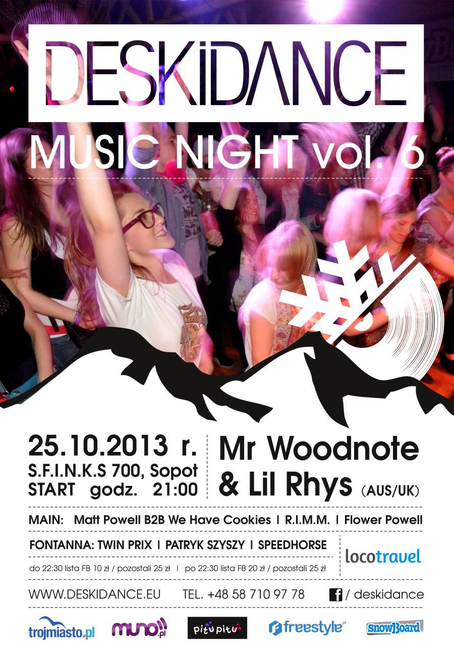DESKIDANCE Music Night vol.6