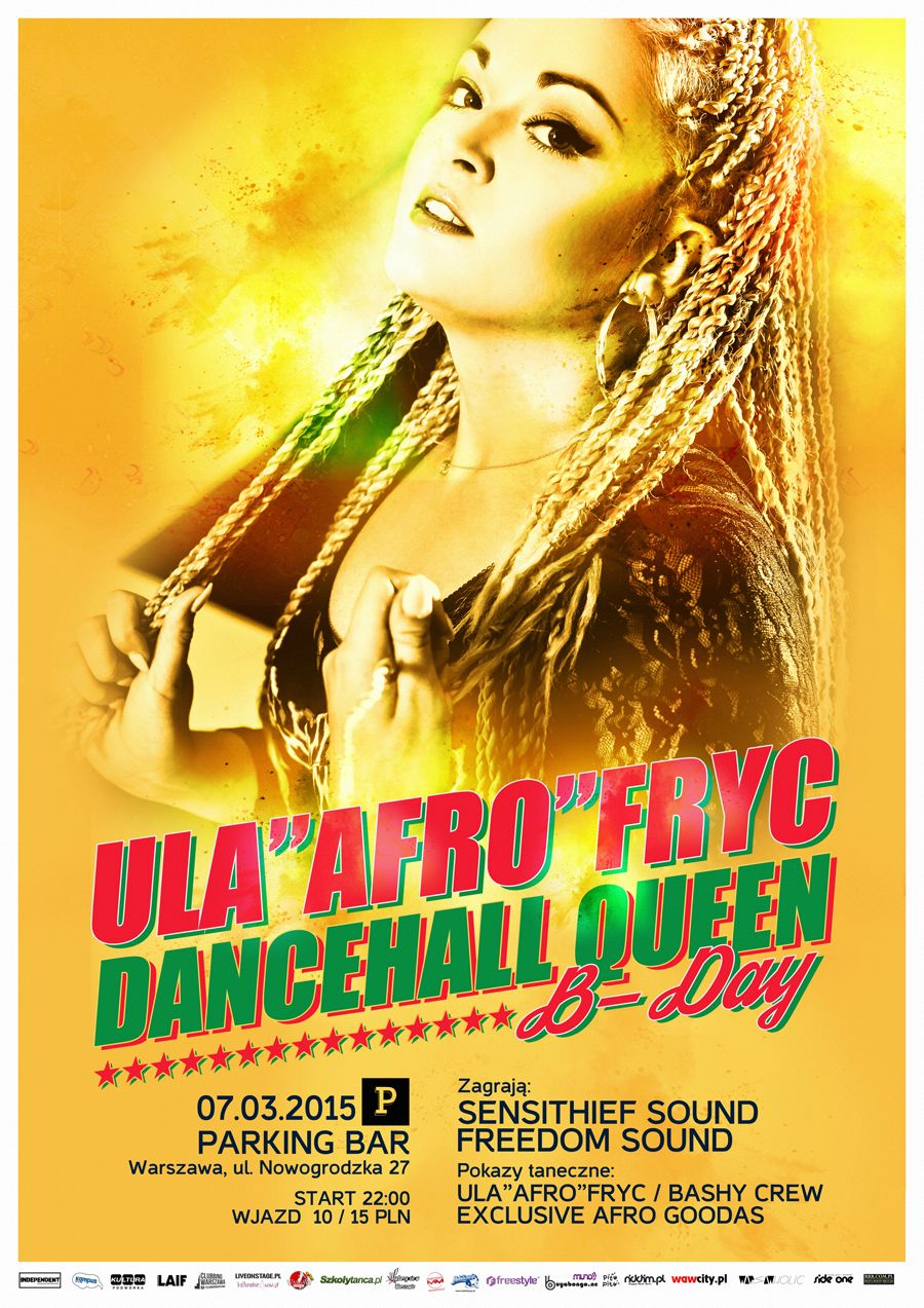 "DANCEHALL QUEEN PARTY - ULA ""AFRO"" FRYC B-DA"