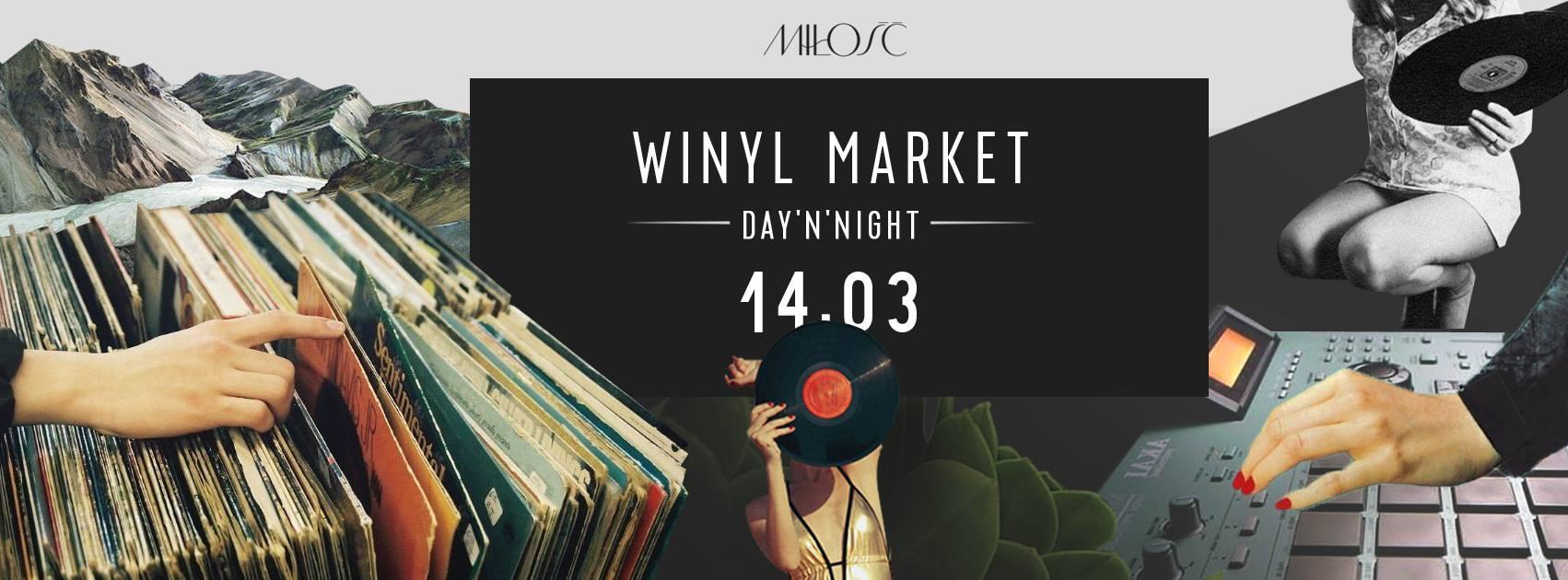 5. edycja Winyl Marketu w warszawskiej klubokawiarni Miłość Kredytowa 9