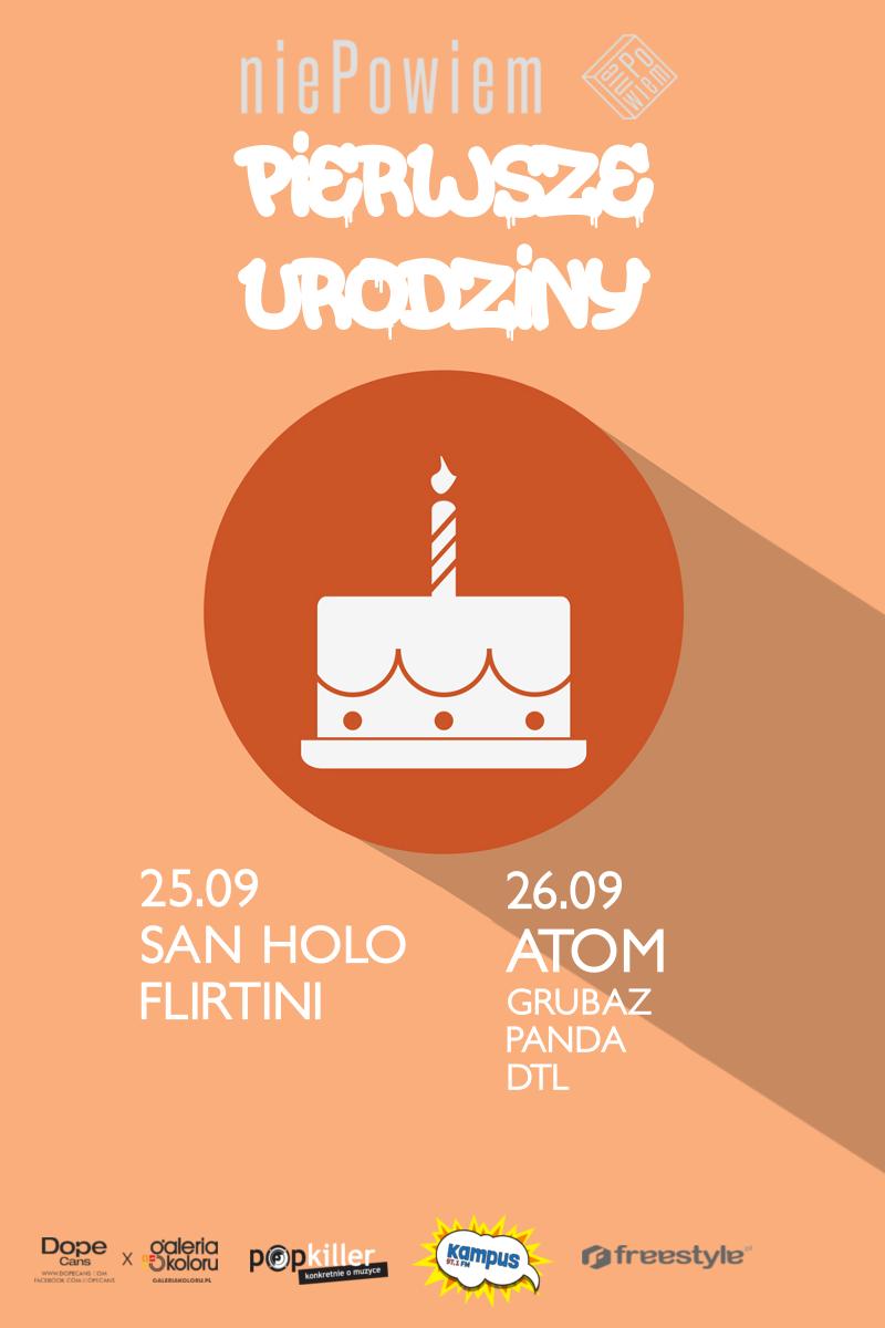 Urodziny niePowiem