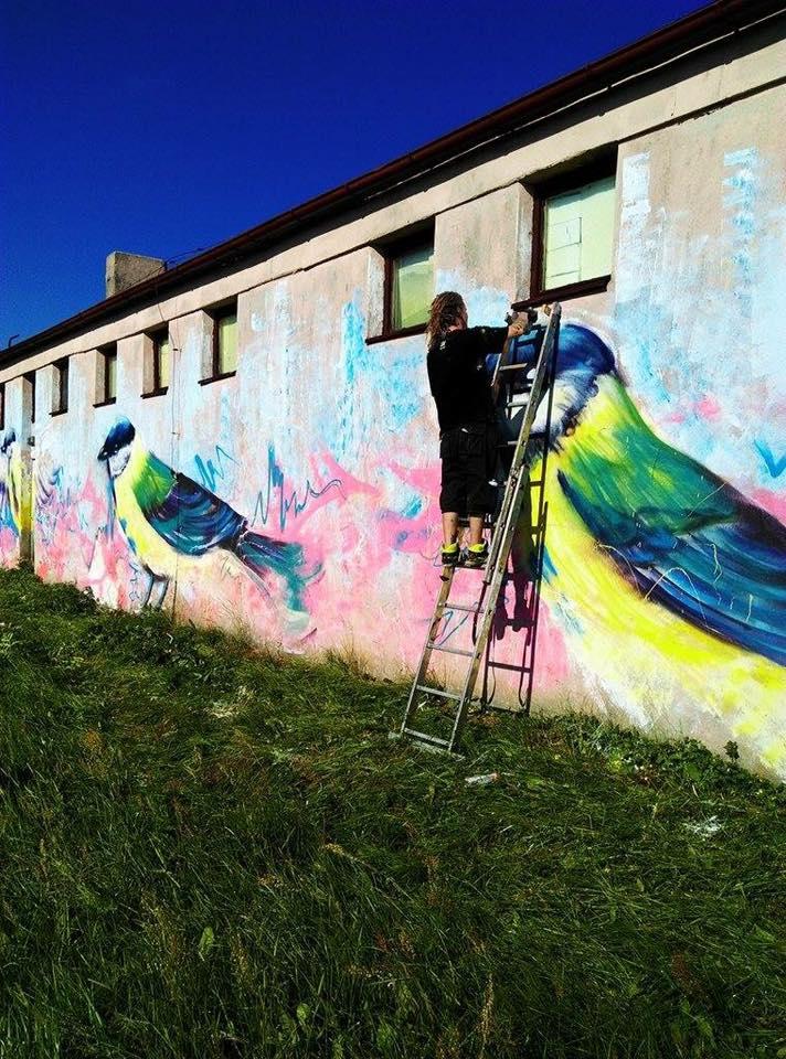 Projekt Artist - Emilio 3fer Makipaa projekt dla hydroforni w Targowie
