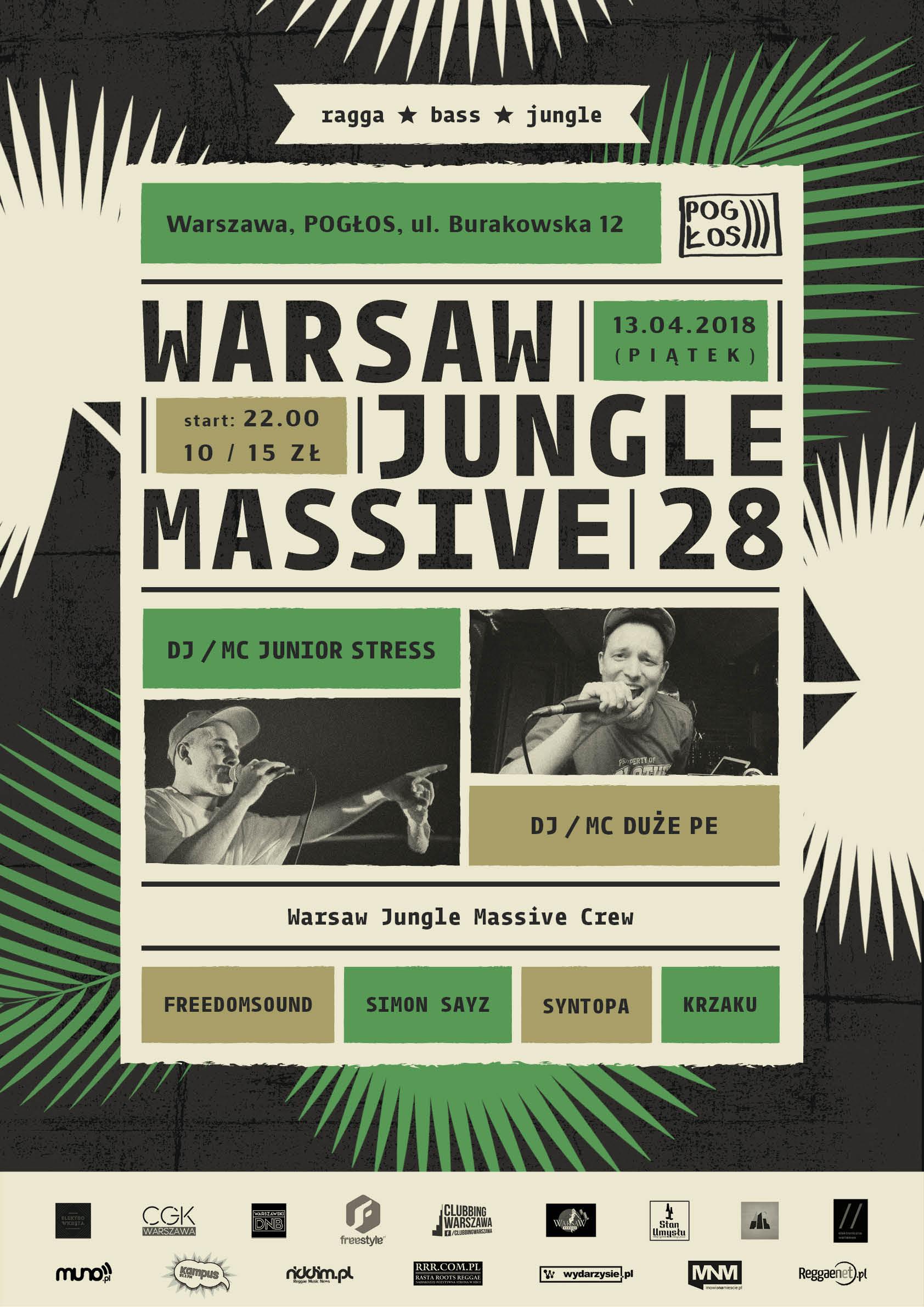 Warsaw Jungle Massive #28 feat. Junior Stress & Duże Pe