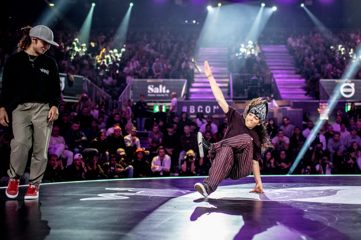 B-Girl battle na światowym finale Red Bull BC One, Zurych 2018
