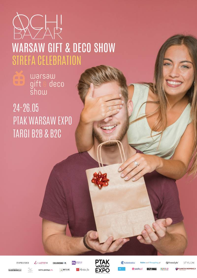 TARGI OCH!BAZAR NA WARSAW GIFT & DECO SHOW STREFA CELEBRATION