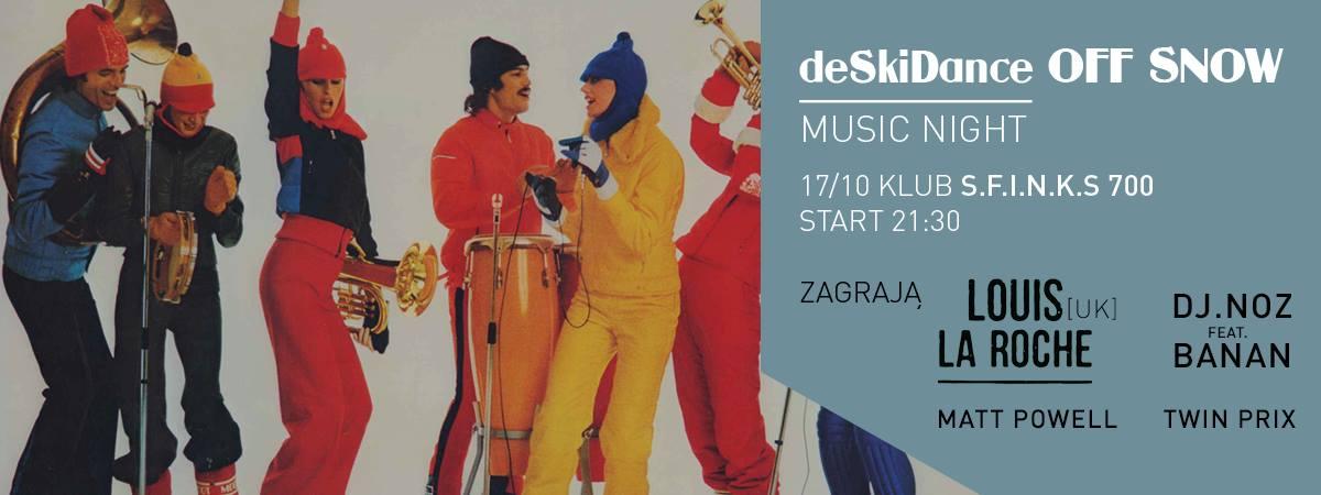 deSkiDance OFF SNOW music night