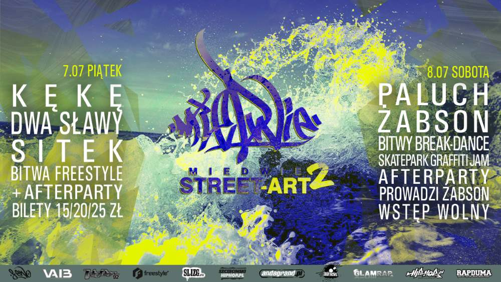 Plakat - Miedwie Street Art Festiwal vol. 2