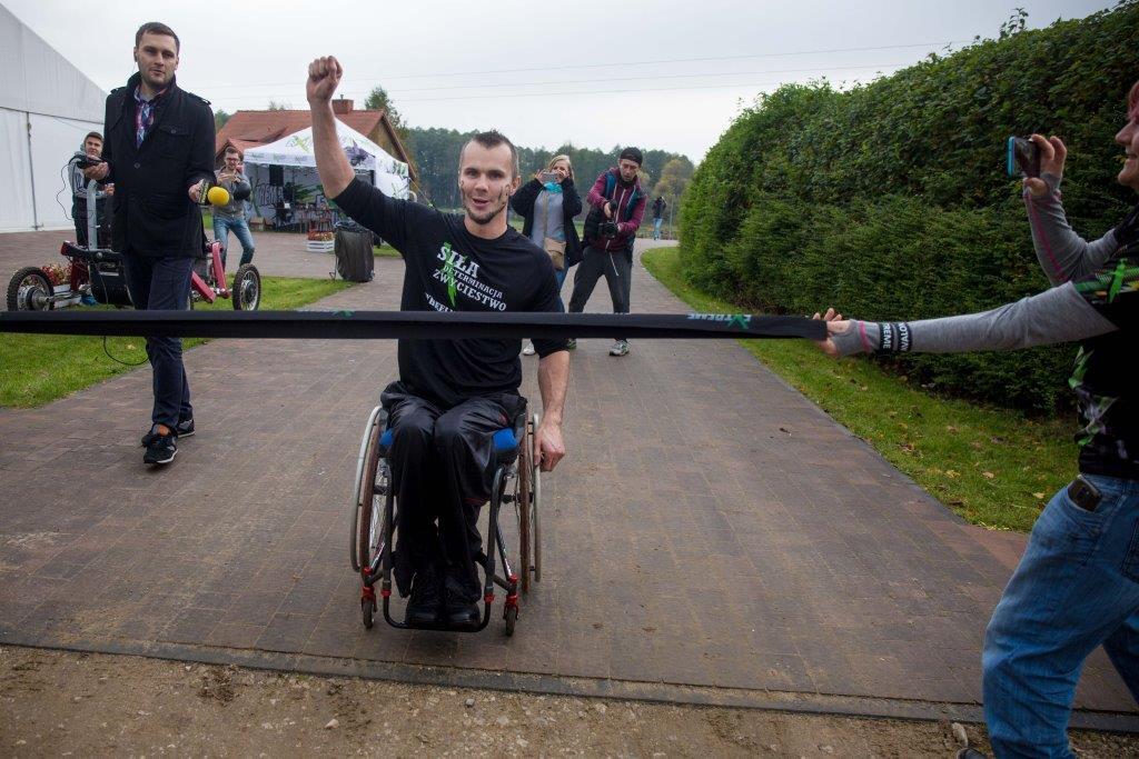 Szymon Klimza ponownie najlepszy w Wheelmageddonie II
