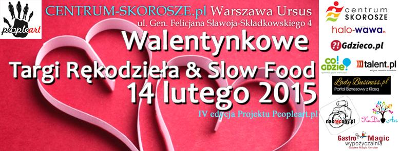 Walentynkowe Targi Rękodzieła & Slow Food Projektu PeopleArt