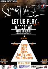 Supportbase: Let Us Play - Warszawa vol.8