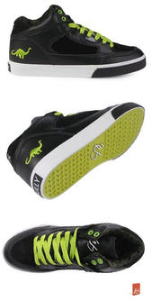 Buty eS FW 10 Erving Diplo Collaboration (black/lime)