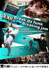 BREAK DA FUNK x BREAKING JAM x DHARNI x ONE GIRL ARMY x HIP HOP CZWARTKI x PARKING BAR