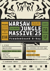 Warsaw Jungle Massive 25 | FreedomSound B-Day