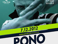 7.12 Warszawa: PONO - 5/55 POPKILLER ON-LIVE STREAM