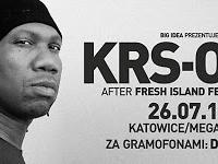 26.07 Katowice: KRS-One @ MegaClub