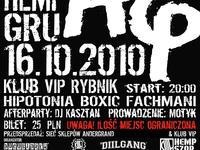 Koncert HEMP GRU Klub VIP Rybnik (ul. Rynek 5) 16.10.2010