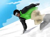 Snowboardowy Downhill