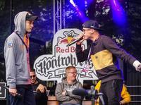 Ryba drugim finalistą bitew freestyleowych Red Bull Kontrowersy