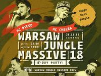 Warsaw Jungle Massive 18 - B-Day Edition