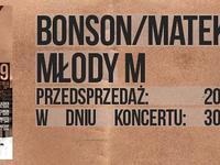 Młody M i Bonson/Matek w Gdańsku @ klub MEDYK || PrimoreCru