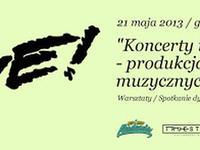 21.05 Warszawa: Hip-Hop Akademia: Koncerty i festiwale – produkcja wydarzeń muzycznych / warsztaty / spotkanie dyskusyjne