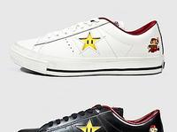 Converse + Super Mario Bros. One Star