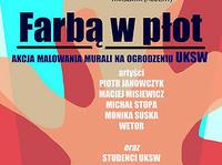 2.06 Warszawa: Farbą w płot !