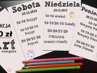 28-30.12 Warszawa: 3 dni zajęć za 10 zł