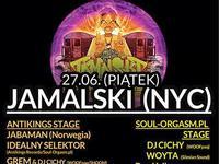 27.06 - SOUL-ORGASM.pl Opening Party w Krakowie - koncert legendy ruffneck MC Jamalskiego!