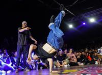 B-Boys final battle Thomaz vs Nikita