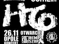 Koncert HEMP GRU z okazji otwarcia Hempszopu w Opolu.