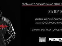 31.10 Warszawa: SPOTKANIE Z OBYWATELEM MC W CALIFORNIA SKATESHOP / GALERIA KOLORU