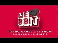16 - 18. 02 Hamburg: wernisaż WE ❤ 8BIT – Retro Games Art Show
