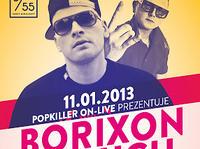 11.01 Warszawa: Borixon/ Paluch w Klubie 55