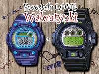 Freestyle Love Walentynki z G-Shock i Baby-G!