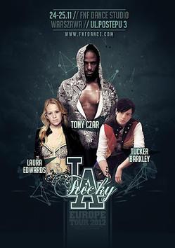 Tucker Barkley, Laura Edwards, Tony Czar - 5 edycja warsztatów tanecznych Tricky LA już w listopadzie!