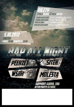 5.10 Sopot: Rap All Night vol.6 - PeeRZet, Sitek/Buszu, WSRH, Molesta