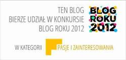 KONKURS Blog Roku 2012