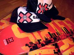 X-Games decki i czapki